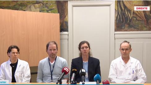 Pressekonferanse: Tre ansatte ved øyeavdelingen er nå virussmittet og mer enn 50 ansatte er i karantene. Sykehuset vil teste 400 pasienter som har vært behandlet på Øyeavdelingen siden smitten oppstod.