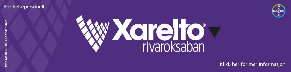 Xarelto rivaroksaban (Bayer) Desktop